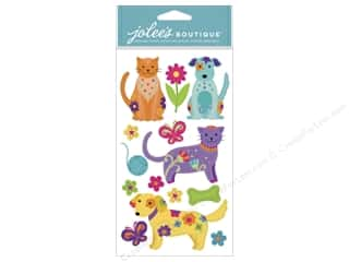 Jolee's Boutique Stickers Colorful Dogs And Cats
