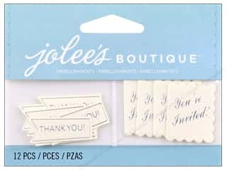 Jolee's Boutique Embellishments Thank Yous And Invites