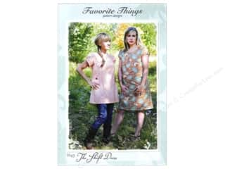 Favorite Things Clearance Patterns: Favorite Things The Shift Dress Pattern