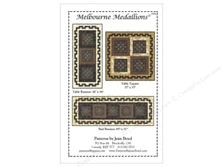 Jean M. Boyd Clearance Patterns: Jean Boyd Melbourne Medallions Pattern