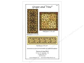 Jean M. Boyd Clearance Patterns: Jean Boyd Grape And Vine Pattern