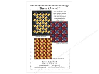 Jean M. Boyd Clearance Patterns: Jean Boyd Three Cheers! Pattern