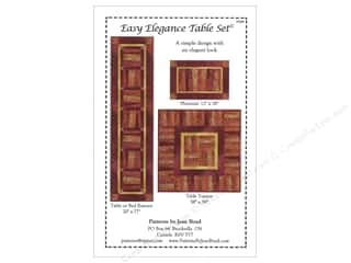 Quilting Made Easy $12 - $15: Jean Boyd Easy Elegance Table Set Pattern