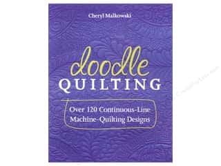 C&T Publishing Books: C&T Publishing Doodle Quilting Book by Cheryl Malkowski