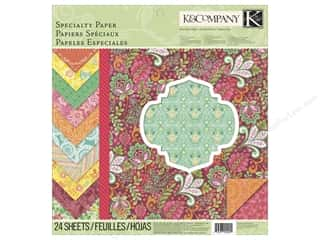 K&Co Paper Pad 12x12 Handmade Specialty
