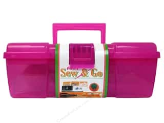 Allary Sewing Kit Sew &amp; Go Deluxe Pink