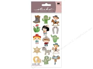 EK Sticko Stickers Cowboy Cuties