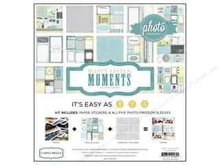 "Echo Park Collection Kit 12""x 12"" Happy Little Moments"