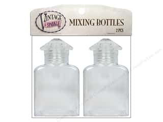 Sulyn Tools Glitter Vintage Mixing Bottles 2pc