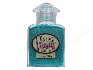 Kids Crafts Basic Components: Sulyn Glitter Vintage Sparkle 1.4oz Iris Aqua Follies