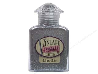 paper sparkle sale: Sulyn Glitter Vintage Sparkle 1.5oz Metallic Silver Screen