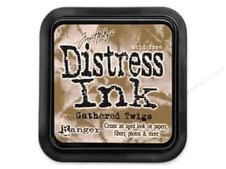 Stamping Ink Pads Brown: Tim Holtz Distress Ink Pad by Ranger Gathered Twigs