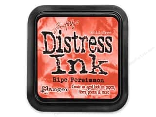 Brayers New: Tim Holtz Distress Ink Pad by Ranger Ripe Persimmon