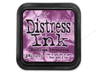 Brayers New: Tim Holtz Distress Ink Pad by Ranger Seedless Preserves