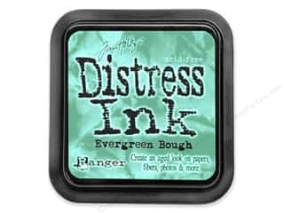 Brayers New: Tim Holtz Distress Ink Pad by Ranger Evergreen Bough