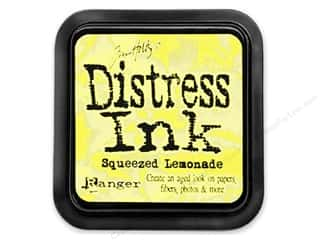 Ranger Stamping Ink Pads: Tim Holtz Distress Ink Pad by Ranger Squeezed Lemonade