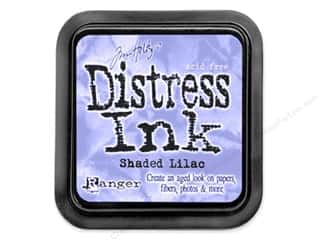 Brayers New: Tim Holtz Distress Ink Pad by Ranger Shaded Lilac