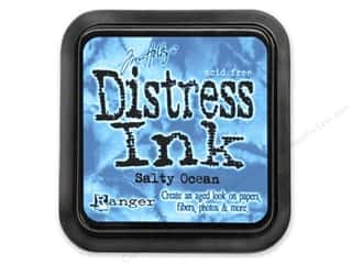 Timn Holtz Distress Ink Pad Salty Ocean