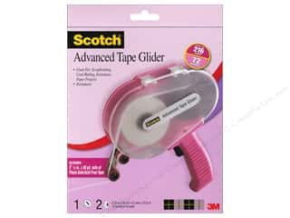 Scrapbooking Tapes: Scotch Advanced Tape Glider with 2 Acid Free Tapes Pink