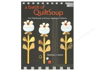 Books Flowers: That Patchwork Place A Batch of QuiltSoup Book