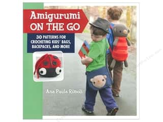 Books $5-$10 Clearance: Crochet Amigurumi On The Go Book