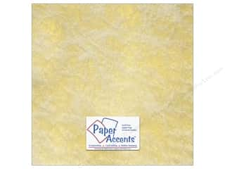Sil-O-Ette International: Paper Accents Spun Silk Cardstock 12x12 Gold (25 piece)