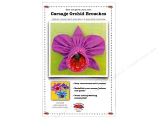 Corsage Orchid Brooch Pattern