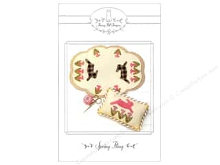 Support Pillows / Cushions: Bunny Hill Designs Spring Fling Pattern