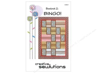 Creative Options: Creative Sewlutions Boxtrot 2 Bingo Pattern
