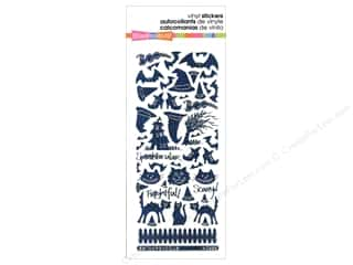 Stampendous Sticker Cats & Bats Holograph Black