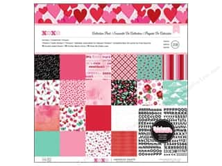 American Crafts Collection Pack 12&quot;x 12&quot; XOXO