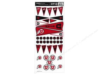 Sports: Sports Solution Sticker Pennant Utah