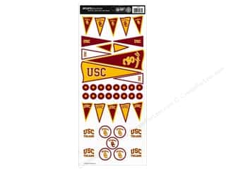 Sports Solution Sticker Pennant USC
