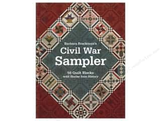 C&T Publishing Anniversaries: C&T Publishing Civil War Sampler Book by Barbara Brackman