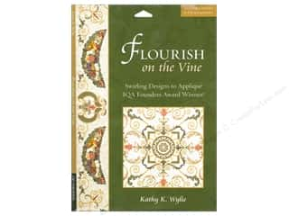 Weekly Specials C & T Publishing: C&T Publishing Flourish On The Vine Book by Kathy K. Wylie