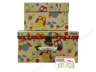 Organizer Containers: Tacony Storage Box Fat Quarter Set of 2