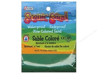 Scenics Kids Crafts: Activa Scenic Sand 1 lb. Forest Green