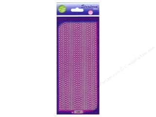 Starform Peel Off Sticker Glitter Dots Purple/Silver