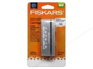 Fiskars Border Punch Interchangeable Star Aligned