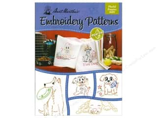 Embroidery Transfers Playful Puppies Book