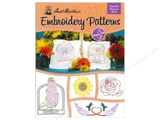 Embroidery Transfers Fanciful Flowers Book