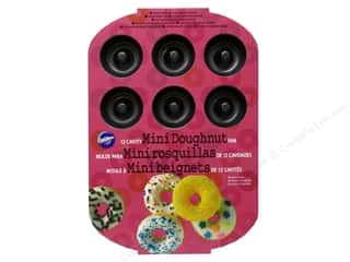 Non-Sticking Sheets inches: Wilton Mini Doughnut Pan 12-Cavity