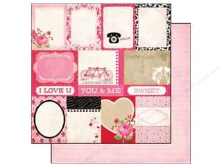 Echo Park 12 x 12 in. Paper Love Story Journaling Cards (25 piece)