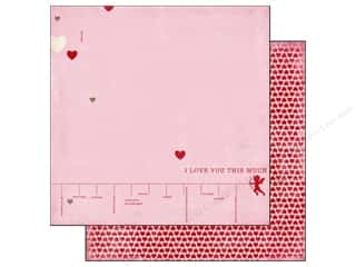 Carta Bella 12 x 12 in. Paper Devoted I Love You This Much (25 piece)