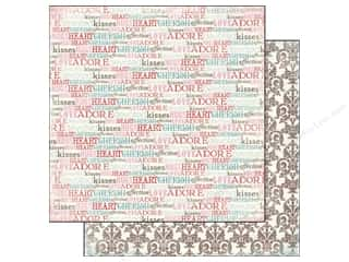 Carta Bella Paper 12x12 Devoted Words Of Love (25 piece)