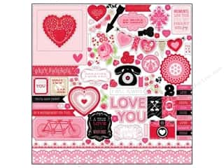 Echo Park Sticker 12x12 Love Story Element (15 set)