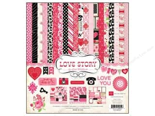 "Echo Park Collection Kit 12""x 12"" Love Story"