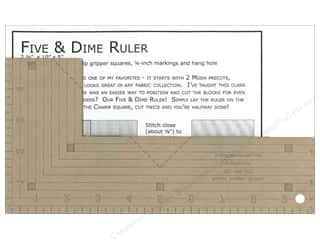 Kansas Troubles Quilters Ruler Five And Dime