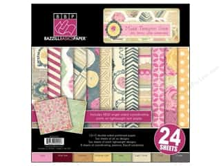 "Weekly Specials Lake City Crafts Quilling Paper: Bazzill Multi Pack 12""x 12"" Teagen 24pc"