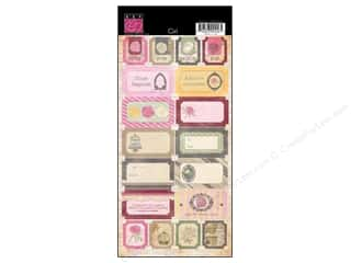 Bazzill Cardstock Stickers 18 pc. Miss Teagen Sue Girl